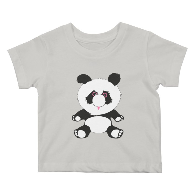 Panda Kids Baby T-Shirt by Dror Miler's Artist Shop