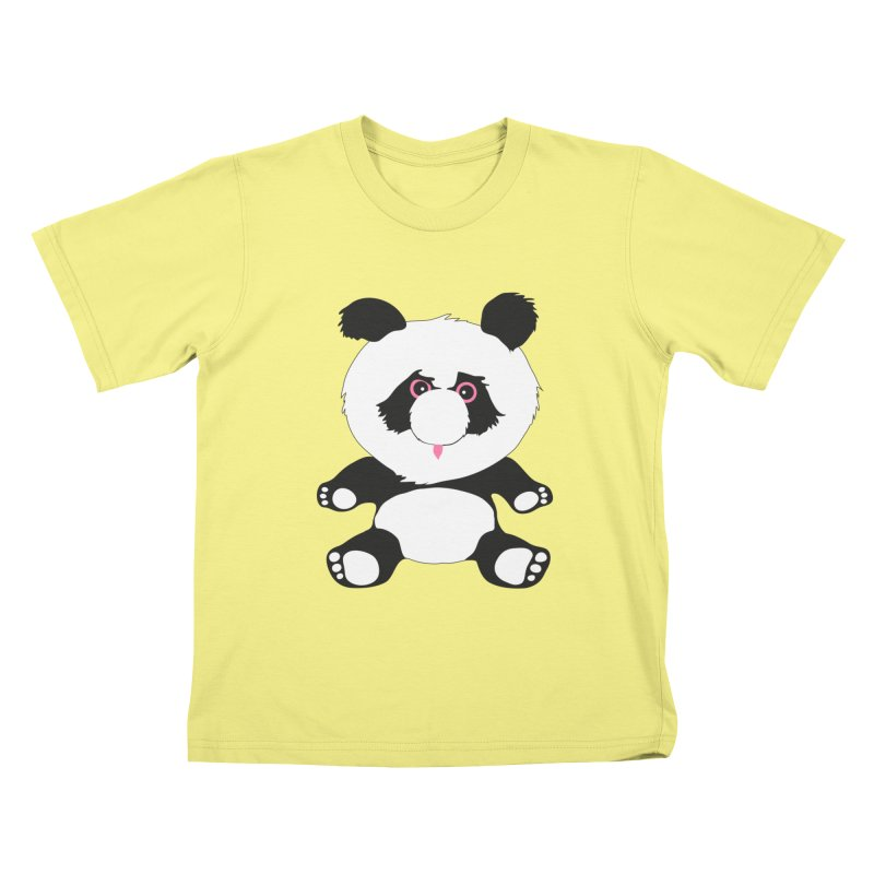 Panda Kids T-shirt by Dror Miler's Artist Shop