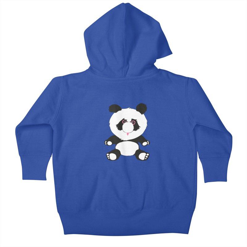 Panda Kids Baby Zip-Up Hoody by Dror Miler's Artist Shop