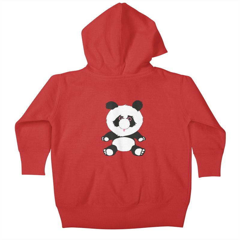 Panda Kids Baby Zip-Up Hoody by Dror Miler's Artist Shop
