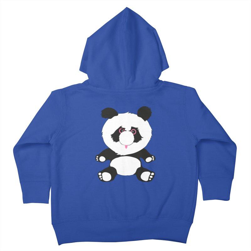 Panda Kids Toddler Zip-Up Hoody by Dror Miler's Artist Shop