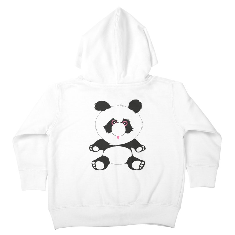 Panda Kids Toddler Zip-Up Hoody by Dror Miler's Artist Shop
