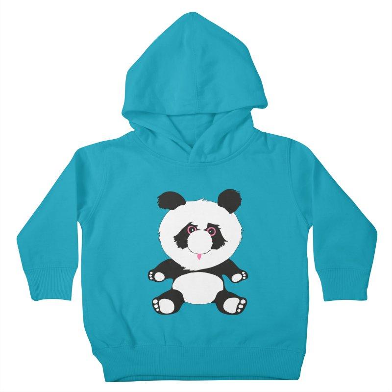 Panda Kids Toddler Pullover Hoody by Dror Miler's Artist Shop