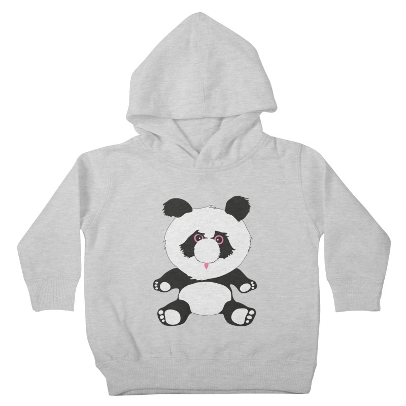 Panda Kids Toddler Pullover Hoody by Dror Miler's Artist Shop