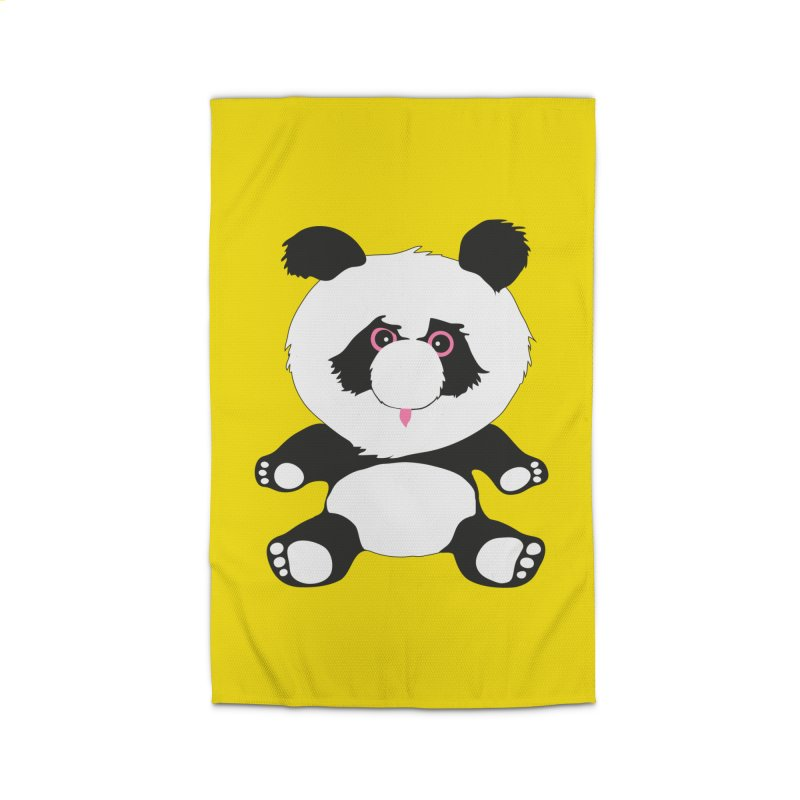 Panda Home Rug by Dror Miler's Artist Shop