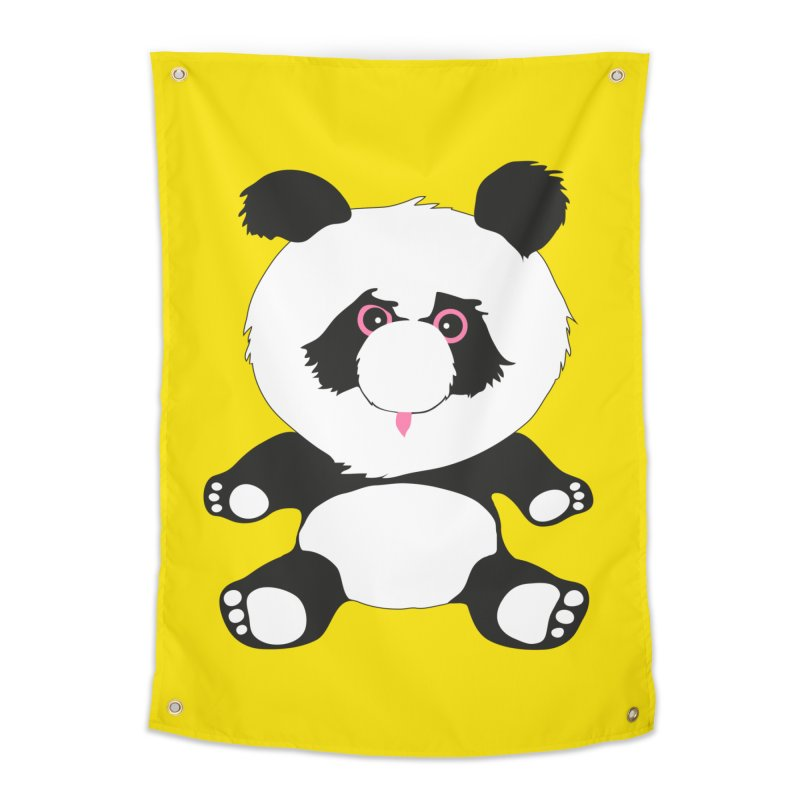 Panda Home Tapestry by Dror Miler's Artist Shop