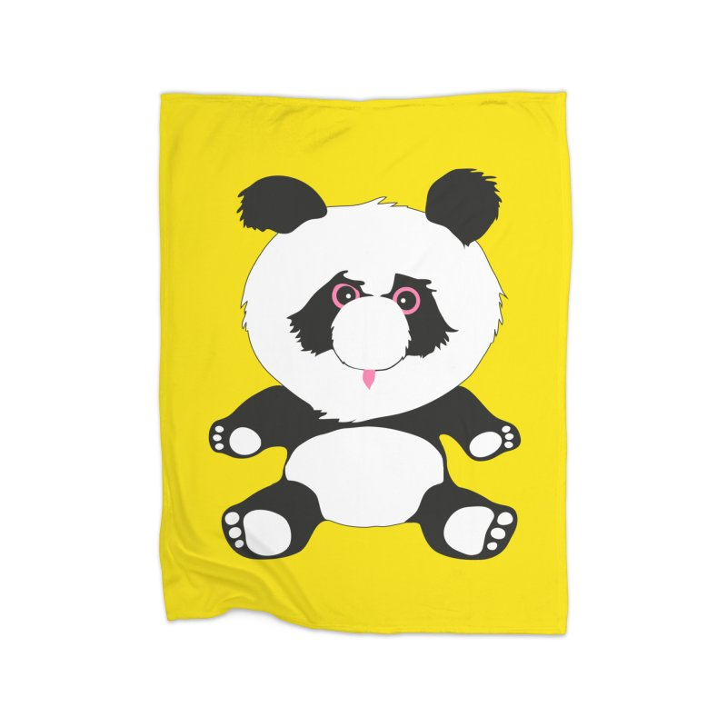 Panda Home Blanket by Dror Miler's Artist Shop