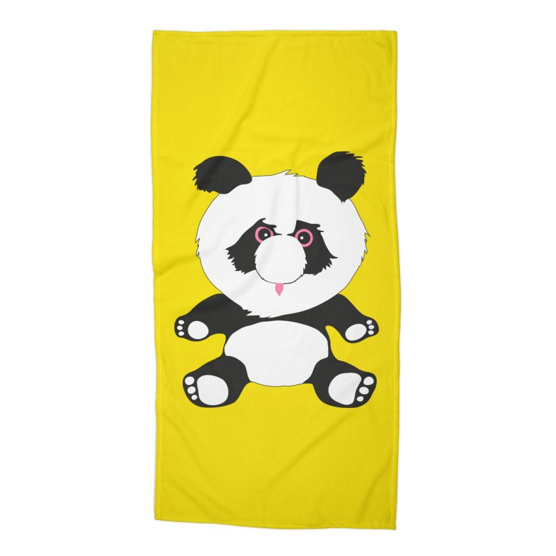 Panda Accessories Beach Towel by Dror Miler's Artist Shop