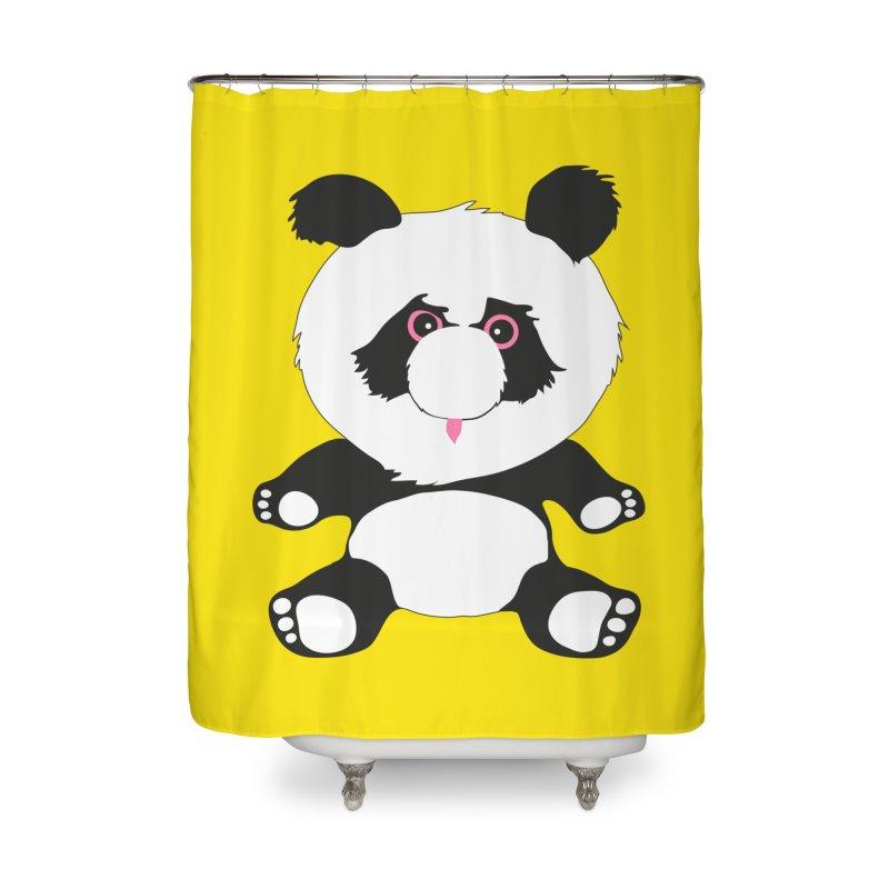 Panda Home Shower Curtain by Dror Miler's Artist Shop