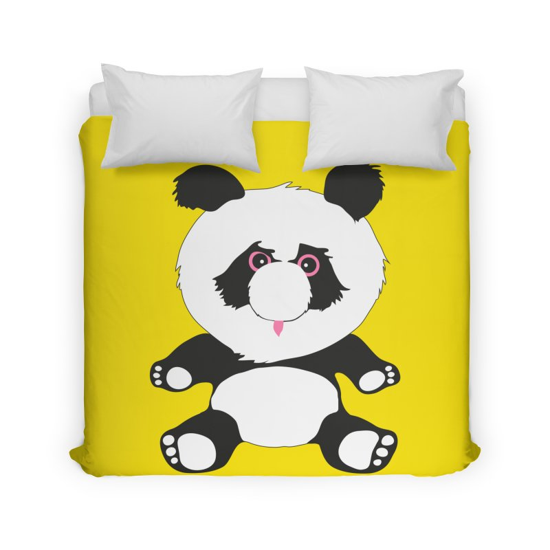 Panda in Duvet by Dror Miler's Artist Shop