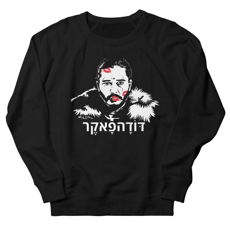 Jon Snow AuntieFucker - Hebrew Men's Sweatshirt by Dror Miler's Artist Shop