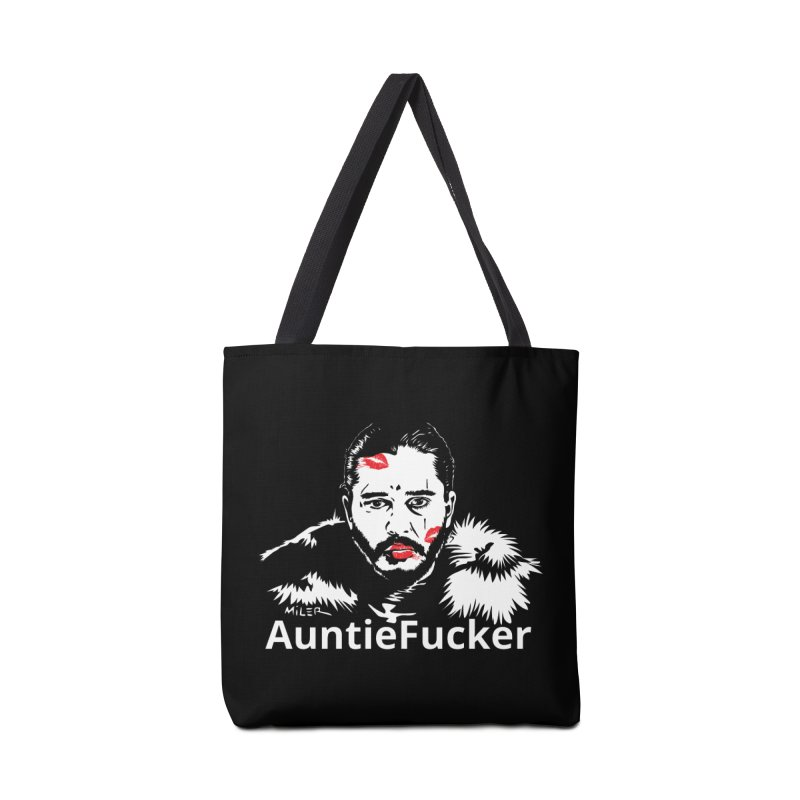 Jon Snow AuntieFucker - English Accessories Bag by Dror Miler's Artist Shop