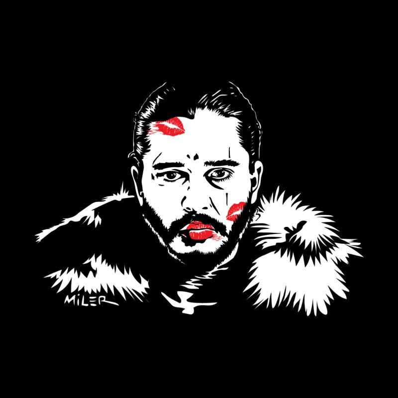 Jon Snow AuntieFucker NO TEXT Women's Pullover Hoody by Dror Miler's Artist Shop