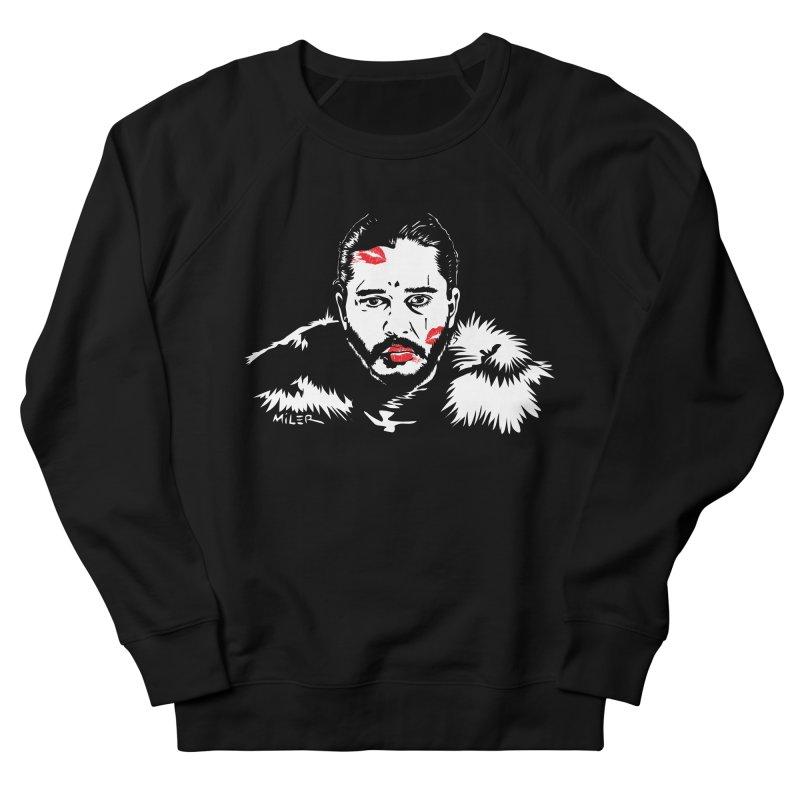 Jon Snow AuntieFucker NO TEXT Men's Sweatshirt by Dror Miler's Artist Shop