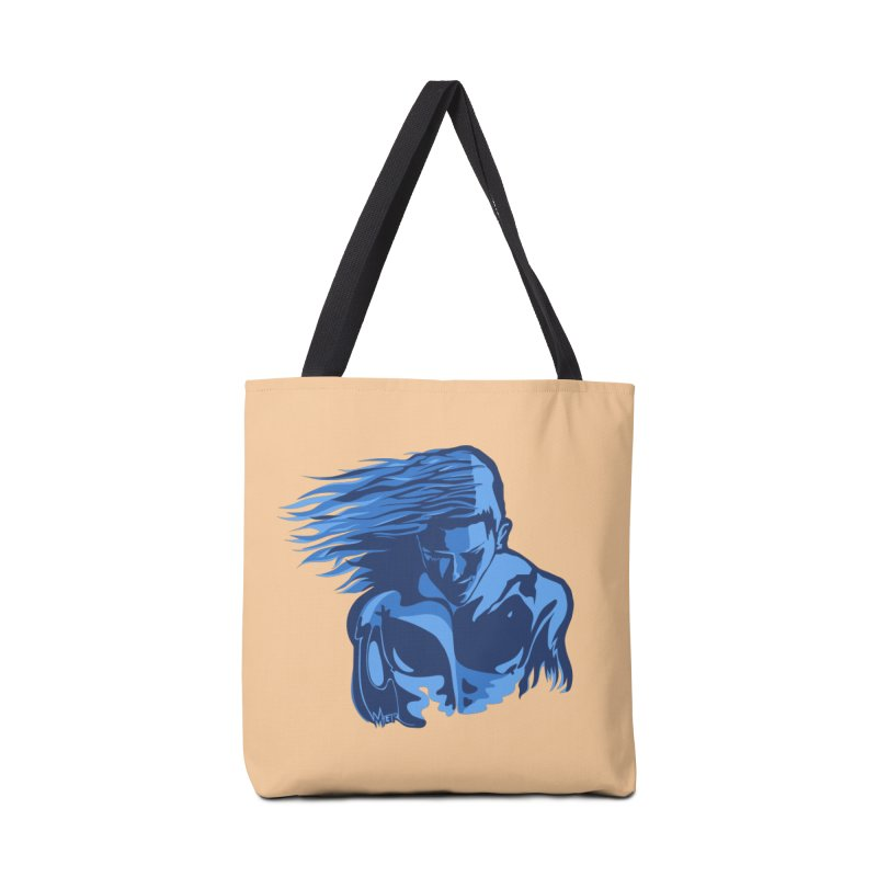 Blue Wind Man Accessories Bag by Dror Miler's Artist Shop