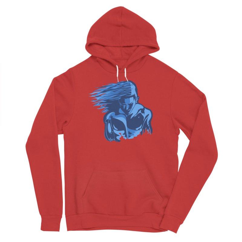 Blue Wind Man Men's Pullover Hoody by Dror Miler's Artist Shop