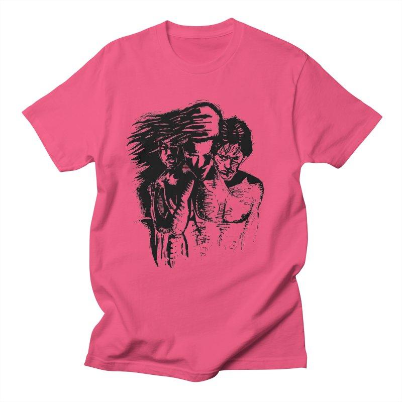 Three Women's T-Shirt by Dror Miler's Artist Shop