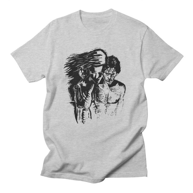 Three Women's Unisex T-Shirt by Dror Miler's Artist Shop