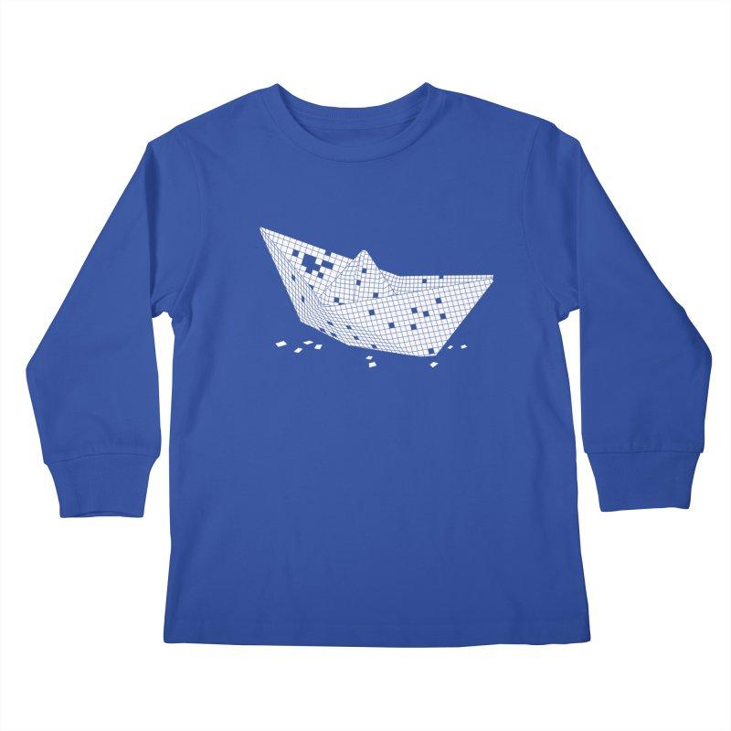 Sugar Boat Kids Longsleeve T-Shirt by Dror Miler's Artist Shop