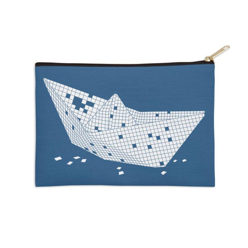 Sugar Boat Accessories Zip Pouch by Dror Miler's Artist Shop