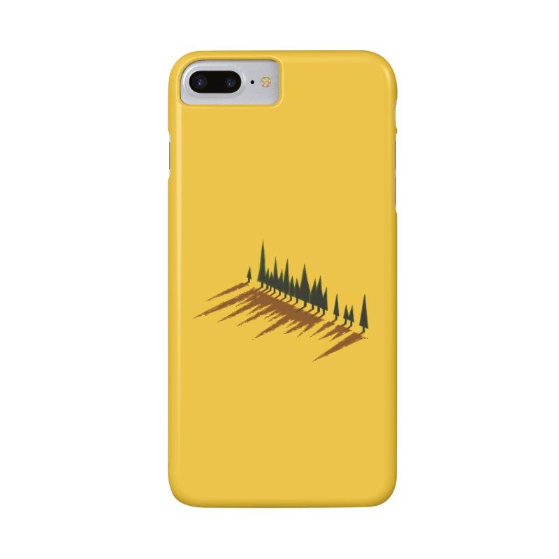 Cypresses sunset Accessories Phone Case by Dror Miler's Artist Shop