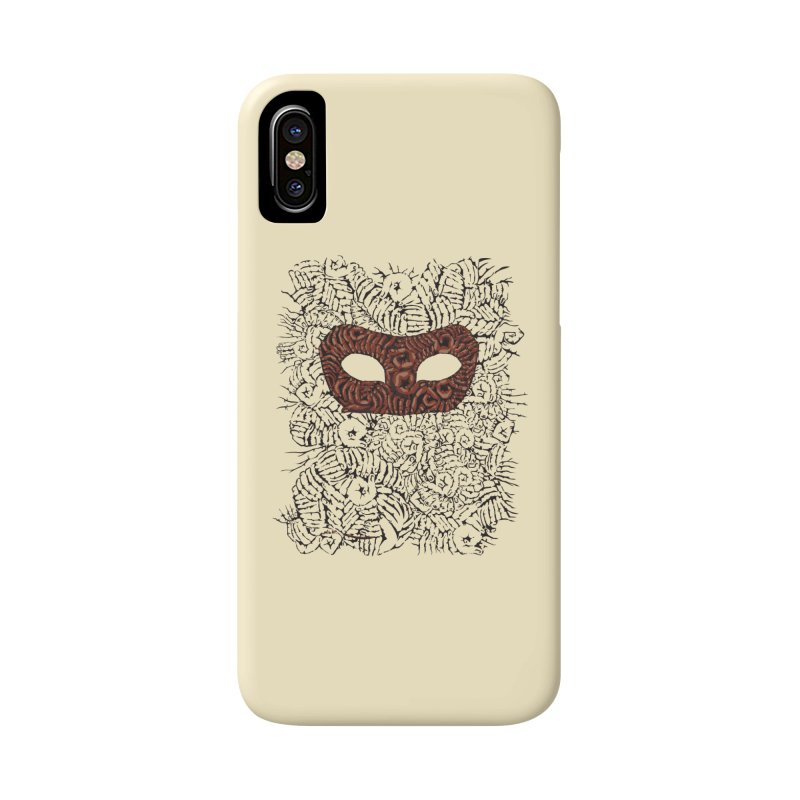 Fingers Mask Accessories Phone Case by Dror Miler's Artist Shop
