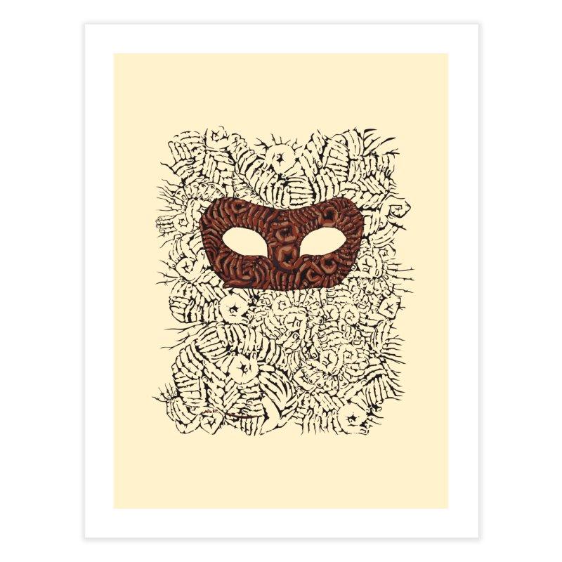 Fingers Mask Home Fine Art Print by Dror Miler's Artist Shop