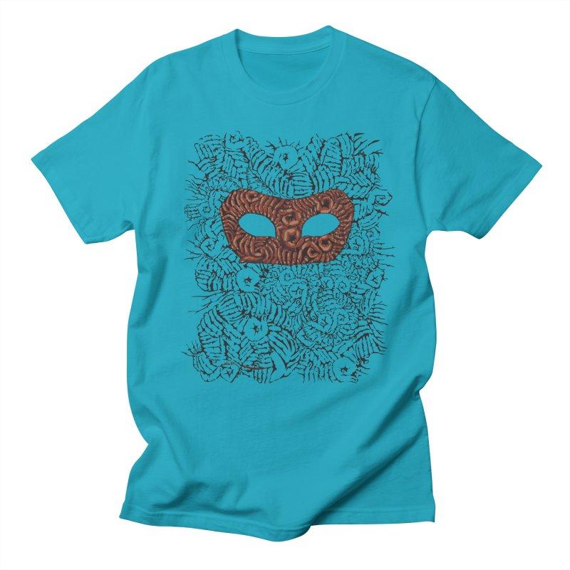 Fingers Mask Women's Unisex T-Shirt by Dror Miler's Artist Shop