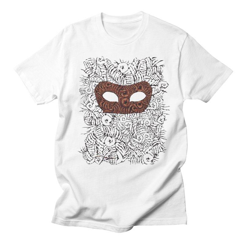 Fingers Mask Men's T-shirt by Dror Miler's Artist Shop