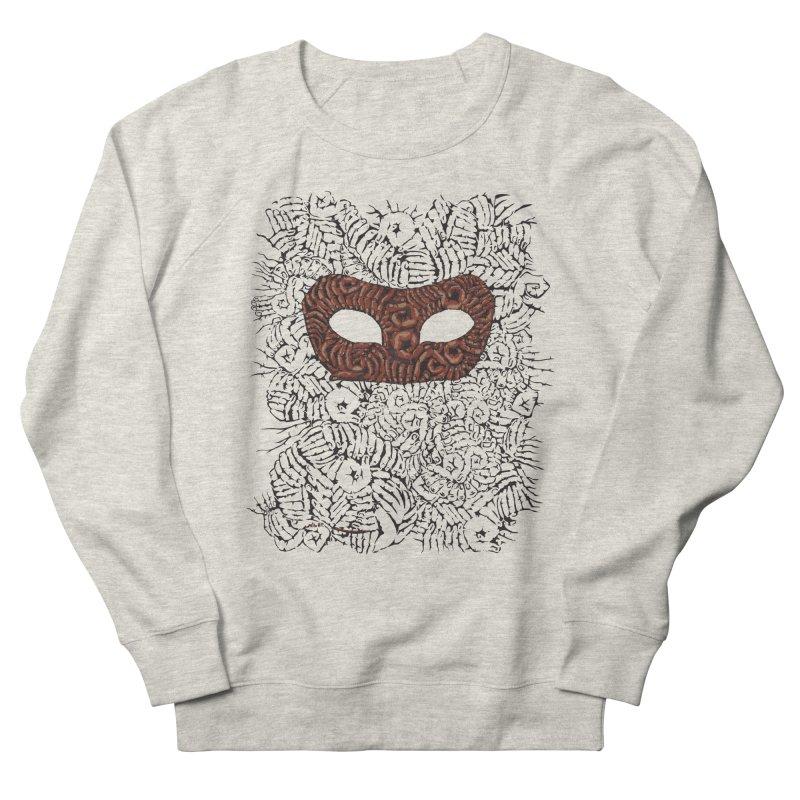 Fingers Mask Men's Sweatshirt by Dror Miler's Artist Shop