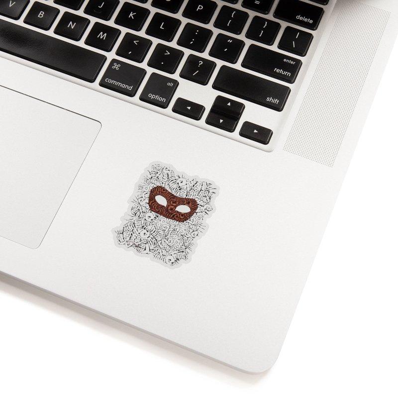 Fingers Mask Accessories Sticker by Dror Miler's Artist Shop
