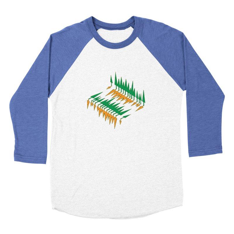 Cypresses reflecting Women's Longsleeve T-Shirt by Dror Miler's Artist Shop