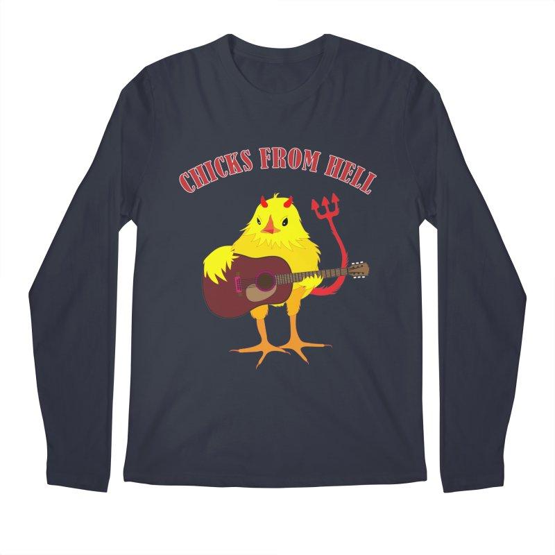 CHICKS FROM HELL Men's Longsleeve T-Shirt by Dror Miler's Artist Shop