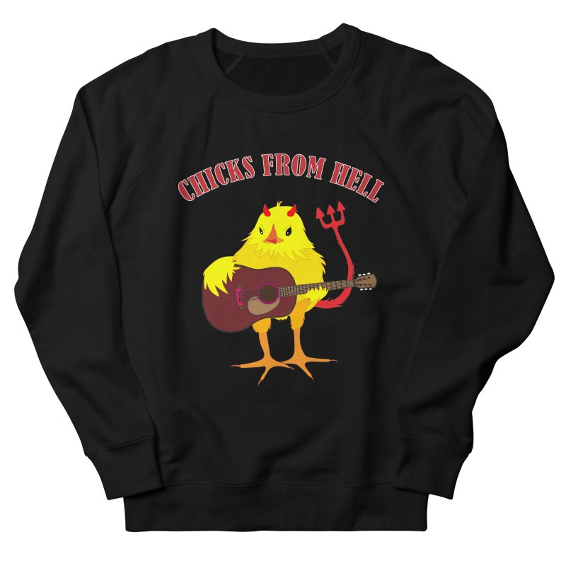 CHICKS FROM HELL Men's Sweatshirt by Dror Miler's Artist Shop