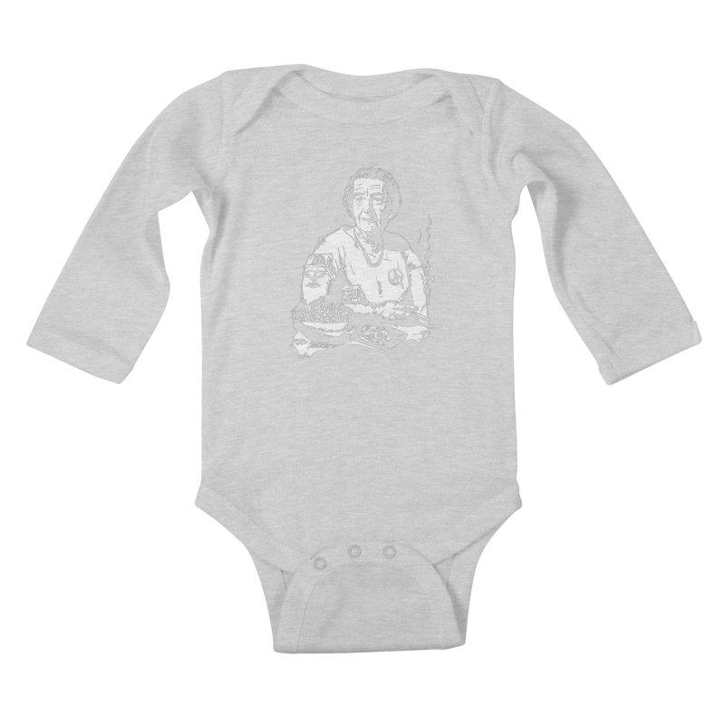 Narco Golda Kids Baby Longsleeve Bodysuit by Dror Miler's Artist Shop