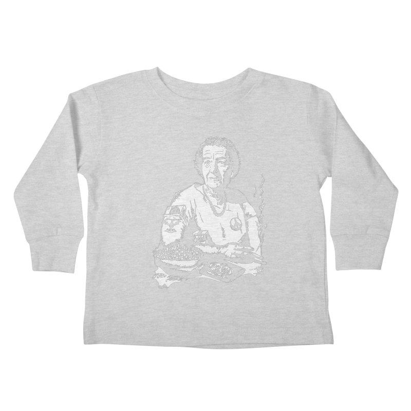 Narco Golda Kids Toddler Longsleeve T-Shirt by Dror Miler's Artist Shop