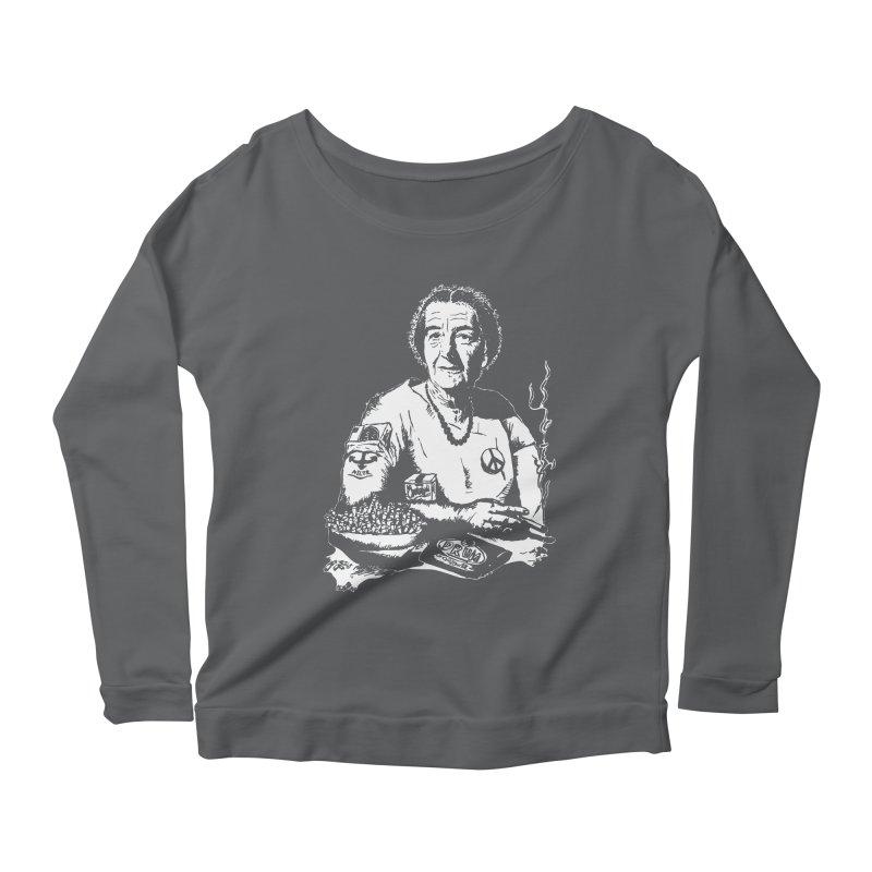 Narco Golda Women's Scoop Neck Longsleeve T-Shirt by Dror Miler's Artist Shop