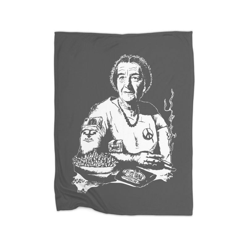Narco Golda Home Fleece Blanket Blanket by Dror Miler's Artist Shop