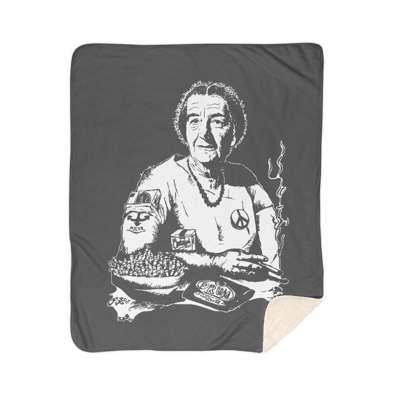 Narco Golda Home Sherpa Blanket Blanket by Dror Miler's Artist Shop