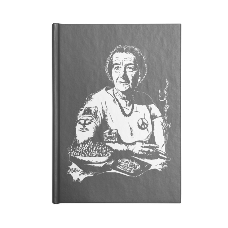 Narco Golda Accessories Lined Journal Notebook by Dror Miler's Artist Shop