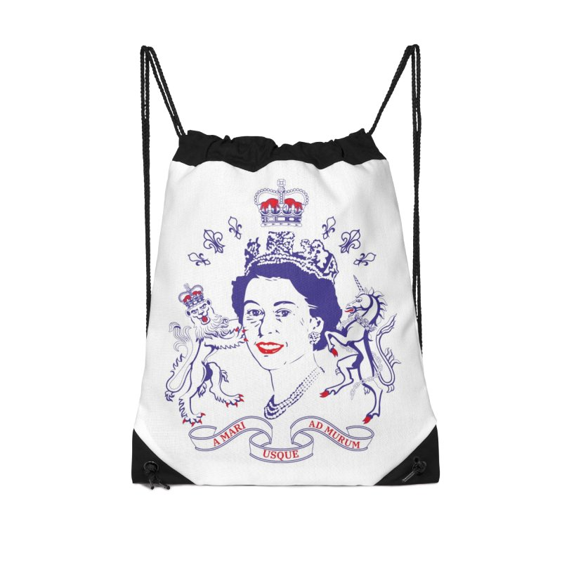 The Queen in Drawstring Bag by Dror Miler's Artist Shop