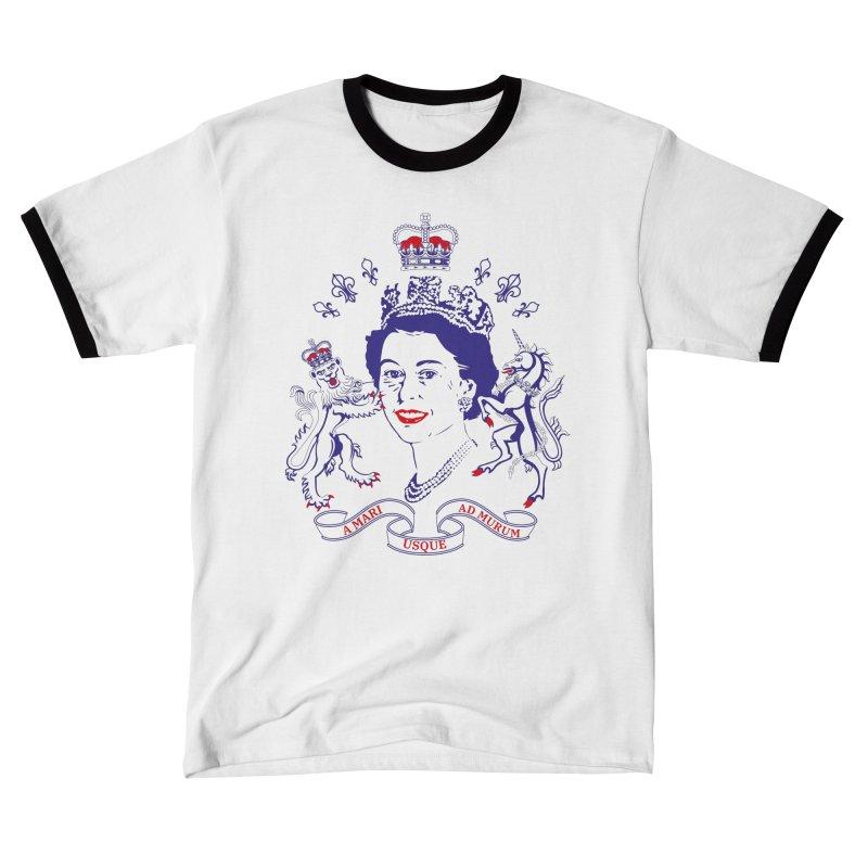 The Queen Men's T-Shirt by Dror Miler's Artist Shop