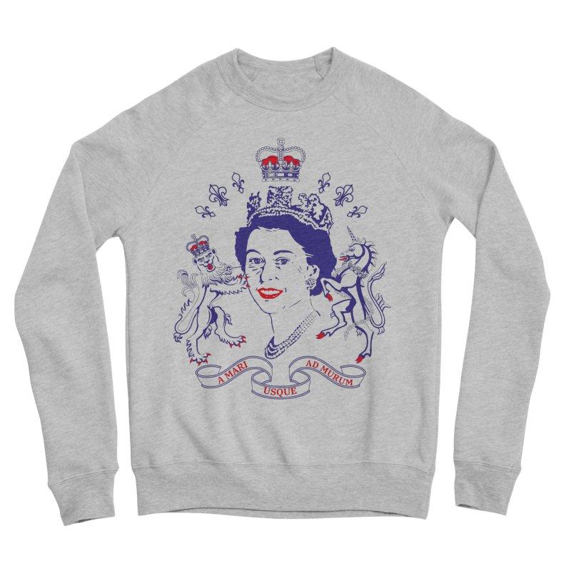The Queen Men's Sweatshirt by Dror Miler's Artist Shop