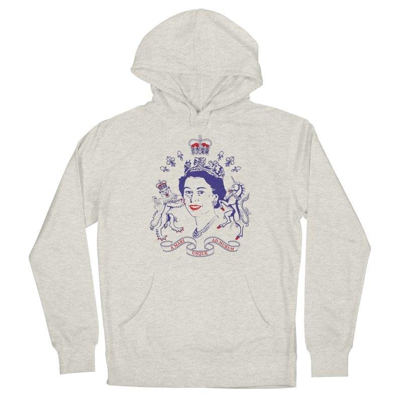 The Queen Women's Pullover Hoody by Dror Miler's Artist Shop