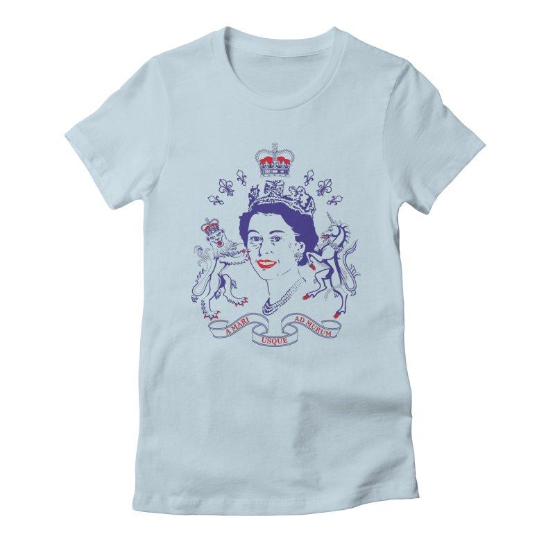 The Queen Women's T-Shirt by Dror Miler's Artist Shop