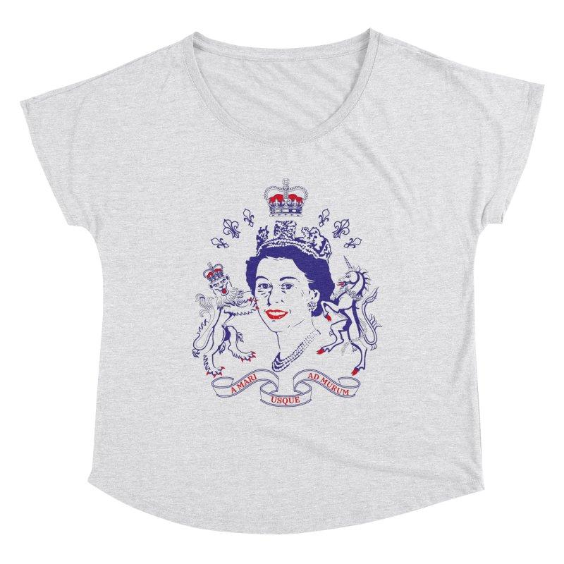 The Queen Women's Scoop Neck by Dror Miler's Artist Shop