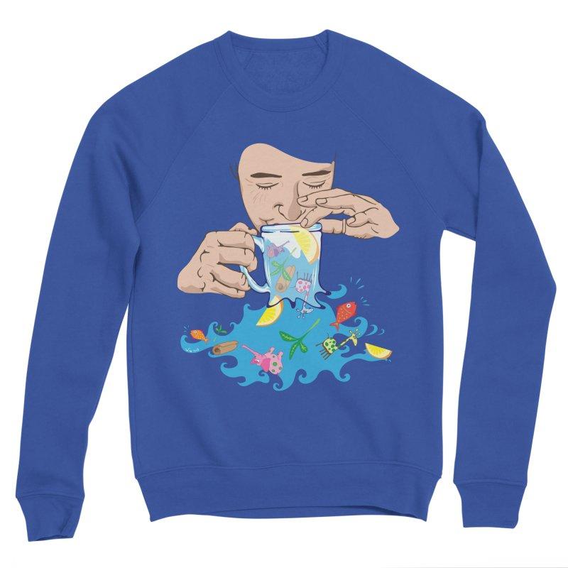 Surreal tea time Women's Sweatshirt by Dror Miler's Artist Shop