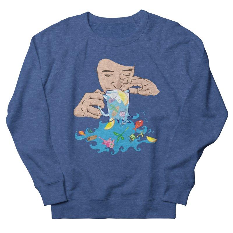 Surreal tea time Men's Sweatshirt by Dror Miler's Artist Shop