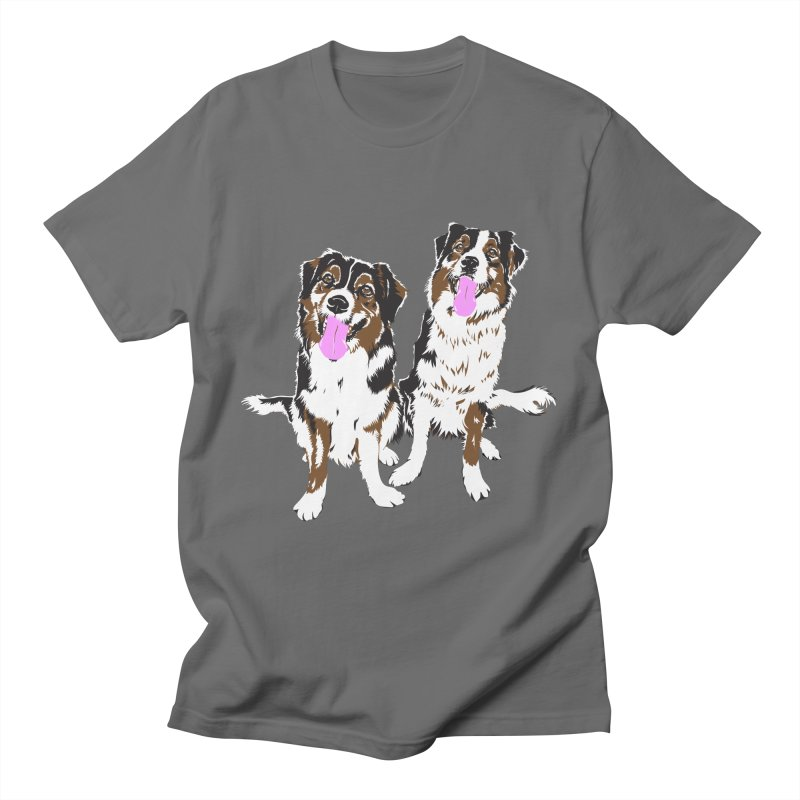 Half & Tilu Men's T-Shirt by Dror Miler's Artist Shop