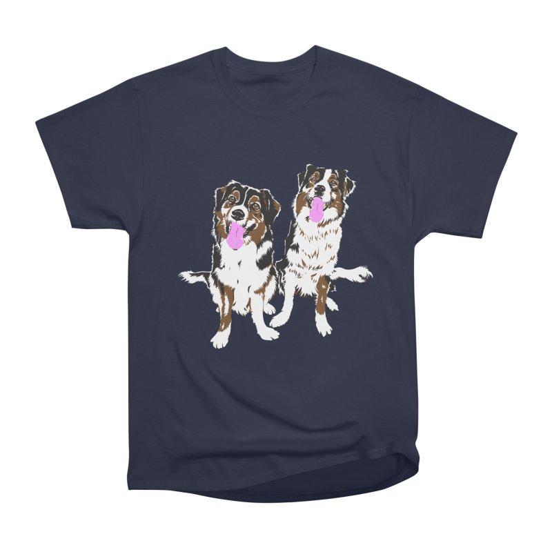 Half & Tilu Women's Heavyweight Unisex T-Shirt by Dror Miler's Artist Shop